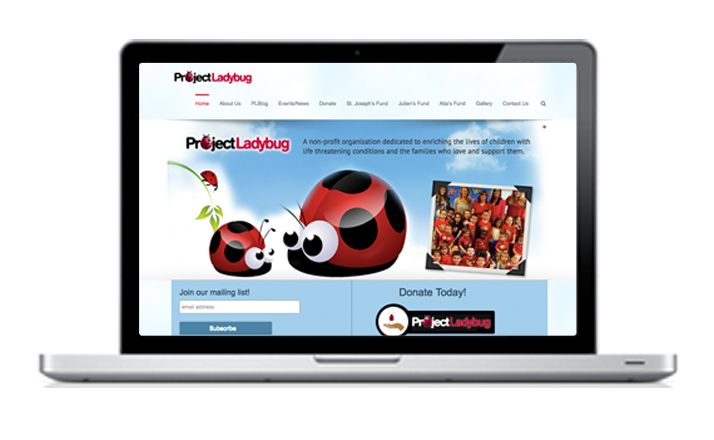 Project Ladybug website